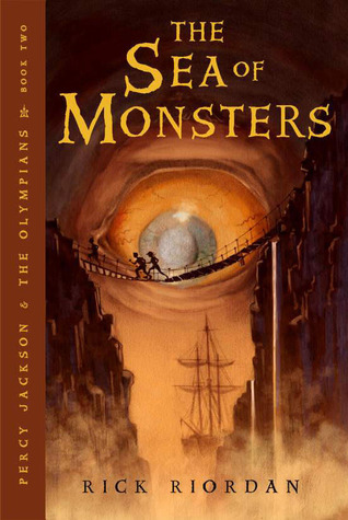 """Book Review: """"The Sea of Monsters"""" by RickRiordan"""