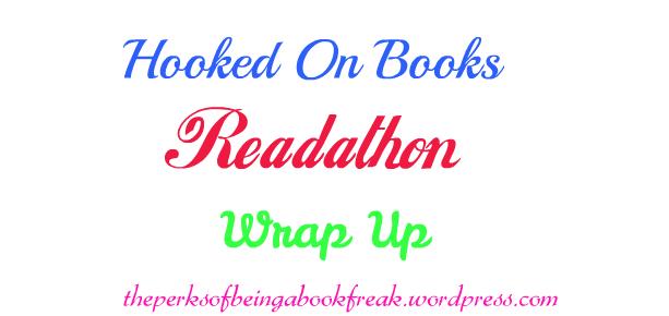 Hooked On Books Readathon WrapUp!