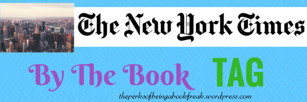 New York Times By the BookTag