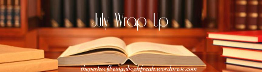 July Wrap Up + Summer Star Readathon WrapUp!