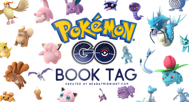 Pokémon Go BookTag!