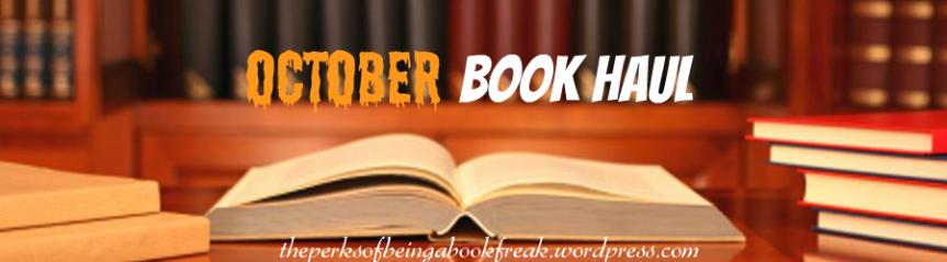 October Book Haul!