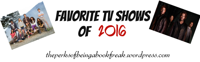 Favorite TV Shows | 2016 Edition