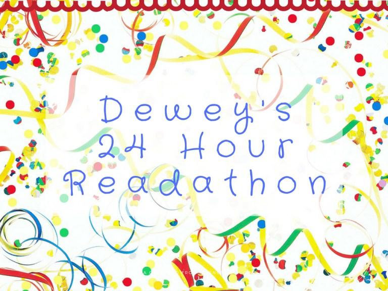 Dewey's 24 Hour Readathon TBRPile!