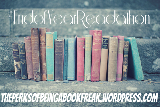 Allie's #EndofYearReadathon Announcement + TBR!