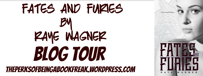 Fates and Furies by Raye Wagner | BLOG TOUR
