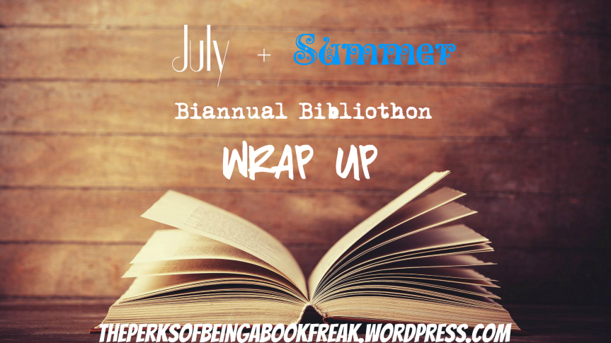 July / Summer Biannual Bibliothon Wrap Up!