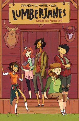Lumberjanes Vol. 1: Beware the Kitten Holy by Noelle Stevenson, Shannon Watters & Grace Ellis | REVIEW &DISCUSSION