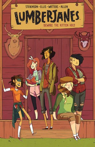 Lumberjanes Vol. 1: Beware the Kitten Holy by Noelle Stevenson, Shannon Watters & Grace Ellis | REVIEW & DISCUSSION