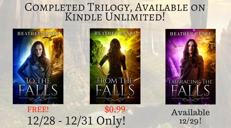 Heather Renee's Now Completed Falls Trilogy On Sale NOW!