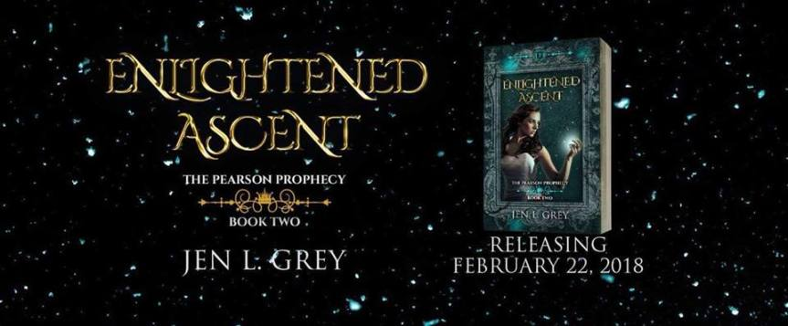 BLOG TOUR: Enlightened Ascent by Jen L. Grey