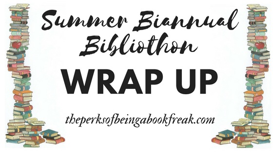 Biannual Bibliothon Wrap Up | Summer 2018